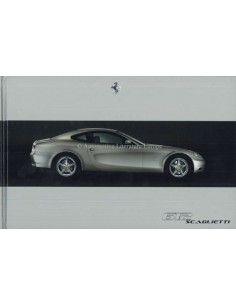 2006 FERRARI 612 SCAGLIETTI HARDCOVER BROCHURE ITALIAN ENGLISH