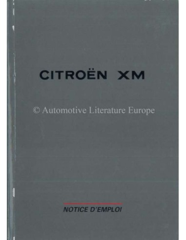 1993 citroen xm owners manual french rh autolit eu Citroen AX Citroen BX