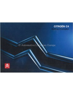 2006 CITROEN C4 OWNERS MANUAL FRENCH