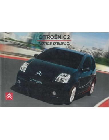 2003 citroen c2 owners manual french rh autolit eu 2006 Citroen C2 Citroen C5