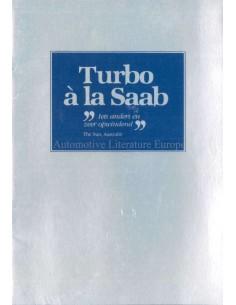 1982 SAAB 900 TURBO A LA SAAB PROSPEKT NIEDERLÄNDISCH