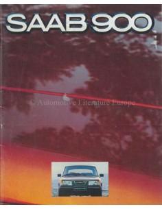1980 SAAB 900 PROGRAMM PROSPEKT NIEDERLÄNDISCH
