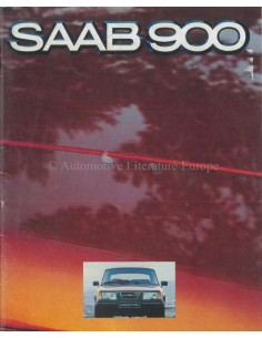 1980 SAAB 900 RANGE BROCHURE DUTCH