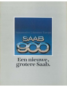 1979 SAAB 900 BROCHURE DUTCH