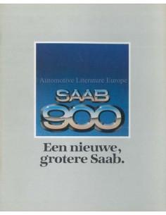 1979 SAAB 900 PROSPEKT NIEDERLÄNDISCH