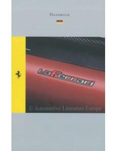 2013 FERRARI LAFERRARI REFERENCE GUIDE (GERMAN VERSION) 4608/13