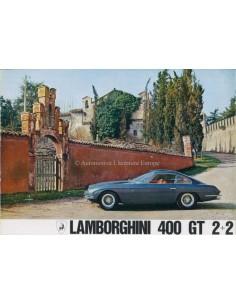 1966 LAMBORGHINI 400 GT 2+2 PROSPEKT