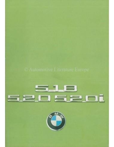 1975 BMW 5 SERIES BROCHURE DUTCH
