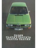 1975 BMW 5 SERIES BROCHURE FRENCH