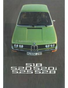 1975 BMW 5 SERIE BROCHURE FRANS