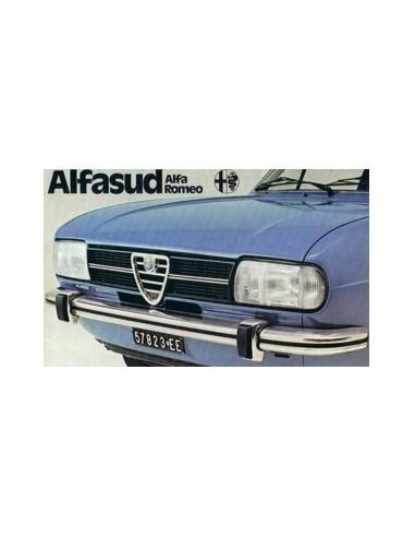 1975 ALFA ROMEO ALFASUD BROCHURE NEDERLANDS