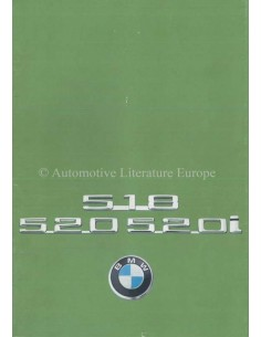 1976 BMW 5 SERIE BROCHURE DUITS