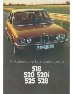 1976 BMW 5ER PROSPEKT DEUTSCH