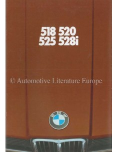 1977 BMW 5ER PROSPEKT DEUTSCH