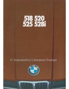 1978 BMW 5ER PROSPEKT NIEDERLÄNDISCH