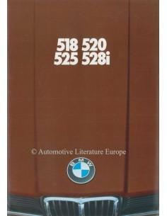 1978 BMW 5ER PROSPEKT DEUTSCH