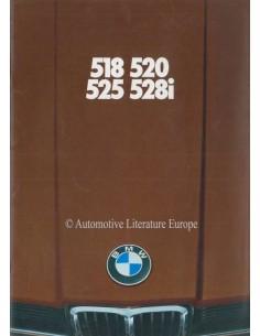 1979 BMW 5ER PROSPEKT DEUTSCH