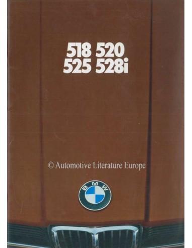 1979 BMW 5 SERIES BROCHURE GERMAN