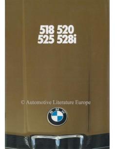 1980 BMW 5ER PROSPEKT DEUTSCH