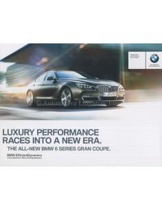 2013 BMW 6ER GRAN COUPÉ PROSPEKT ENGLISCH