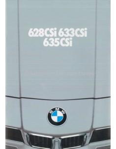 1980 BMW 6 SERIE BROCHURE NEDERLANDS