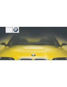 2000 BMW M3 SERIES BROCHURE DUTCH