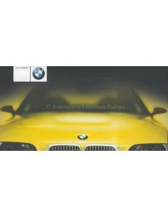 2000 BMW M3 SERIES BROCHURE GERMAN