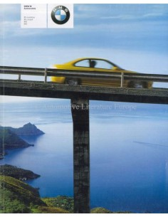 2000 BMW M3 SERIES BROCHURE GERMAN