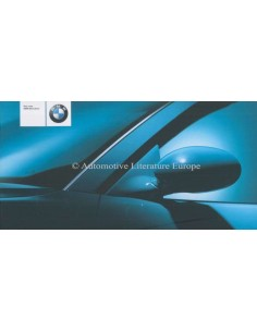 2001 BMW M3 SERIES CONVERTIBLE BROCHURE GERMAN
