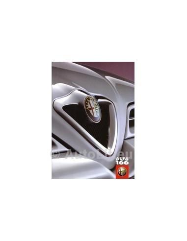 1998 ALFA ROMEO 166 BROCHURE NEDERLANDS