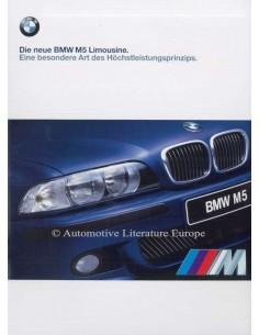 1998 BMW M5 LIMOUSINE PROSPEKT DEUTSCH
