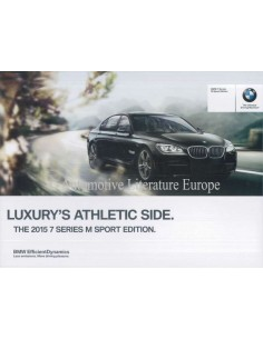 2015 BMW 7 SERIES BROCHURE ENGLISH