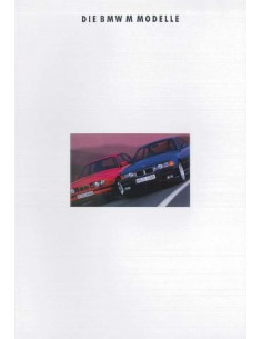 1993 BMW M SERIES RANGE BROCHURE GERMAN