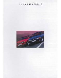 1993 BMW MER PROGRAMM PROSPEKT DEUTSCH