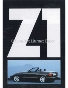 1989 BMW Z1 BROCHURE NEDERLANDS