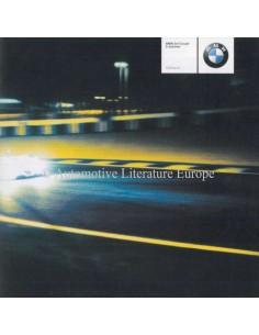 2001 BMW 3 SERIES COUPÉ BROCHURE GERMAN