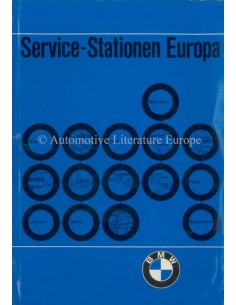 1968 BMW SERVICE STATIONS EUROPE HANDBOOK