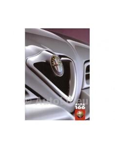 1999 ALFA ROMEO 166 BROCHURE DUITS