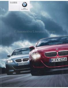 2005 BMW M5 - M6 PROSPEKT ENGLISCH