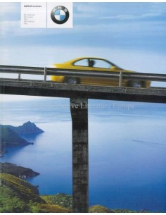 2002 BMW M BROCHURE DUTCH