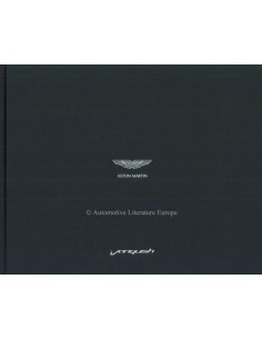 2013 ASTON MARTIN VANQUISH HARDCOVER BROCHURE ENGLISH