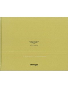 2014 ASTON MARTIN VANTAGE RANGE HARDCOVER BROCHURE GERMAN