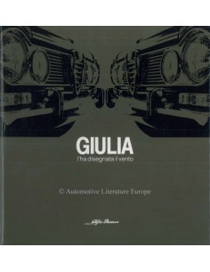 1982 ALFA ROMEO GIULIA I'HA DISEGNATA IL VENTO BOEK ITALIAANS