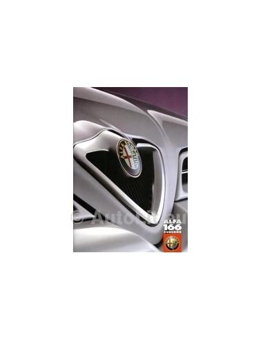 1998 ALFA ROMEO 166 ACCESSOIRES BROCHURE DUITS