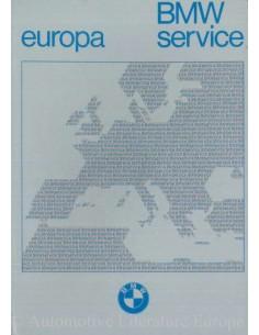 1979 BMW SERVICE STATIONS EUROPE HANDBOOK
