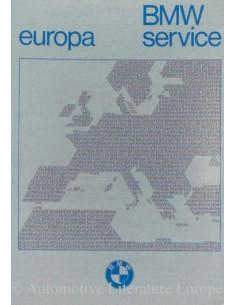 1976 BMW SERVICE STATIONS EUROPE HANDBOOK