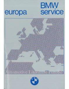 1974 BMW SERVICE STATIONS EUROPE HANDBOOK
