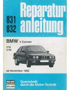 1982 BMW 316 / 318i REPAIR MANUAL GERMAN