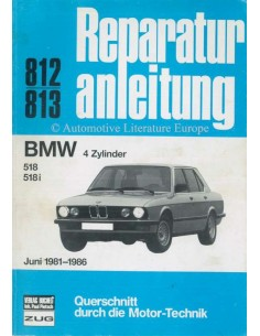 1981-1986 BMW 518 / 518i REPAIR MANUAL GERMAN