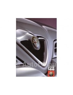 2000 ALFA ROMEO 166 ACCESSOIRIES BROCHURE ITALIAN